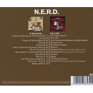 N.E.R.D. - 2in1 (In Search Of.../Fly Or Die) (Back)