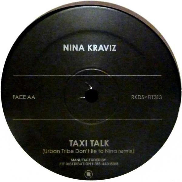 NINA KRAVIZ - MARCELLUS PITTMAN & URBAN TRIBE REMIXES (Back)