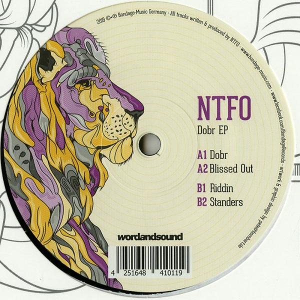 NTFO - Dobr EP (Vinyl only!) (Back)
