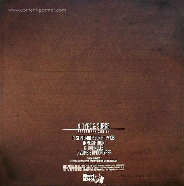 N-Type & Surge - September Sun EP (Back)