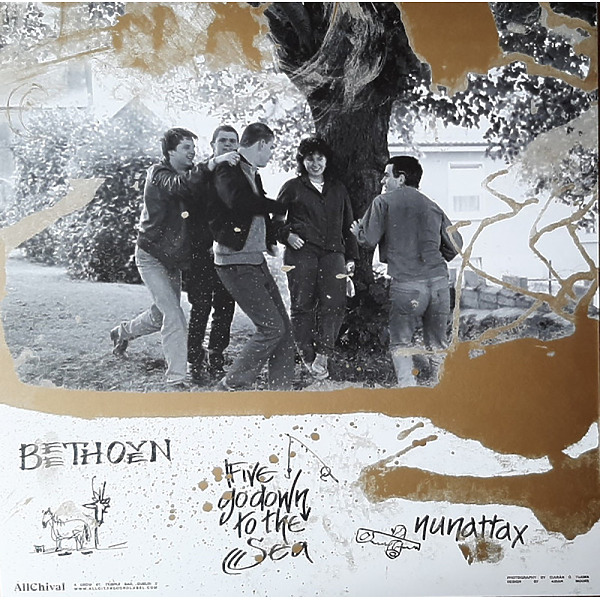 NUN ATTAX / FIVE GO DOWN TO THE SEA? / BEETHOVEN - HIDING FROM THE LANDLORD (Back)