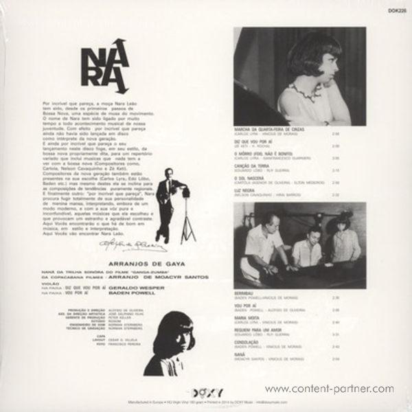 Nara Leao - Nara (LP + CD) (Back)