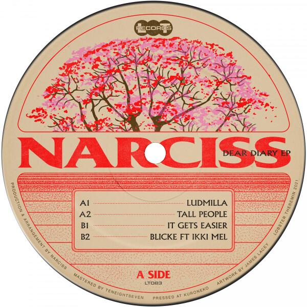 Narciss - Dear Diary EP (Back)