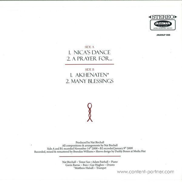 Nat Birchall - Akhenaten (LP) (Back)