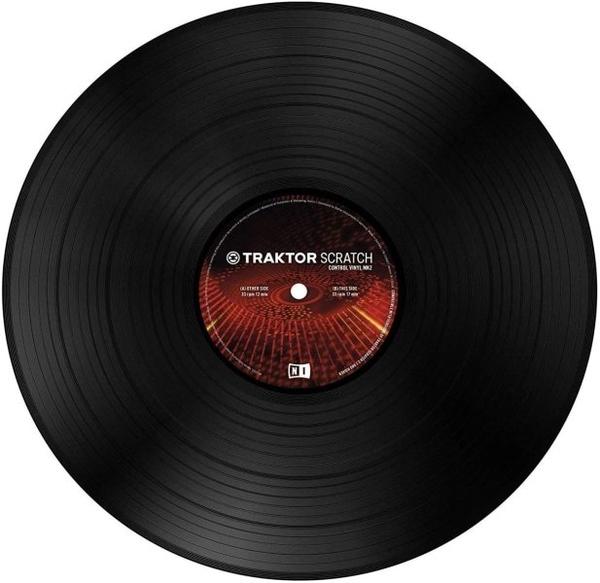 Native Instruments - Control Vinyl MK2 SCHWARZ (Back)