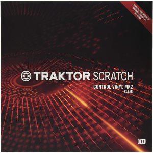 Native Instruments - Control Vinyl MK2 TRANSPARENT