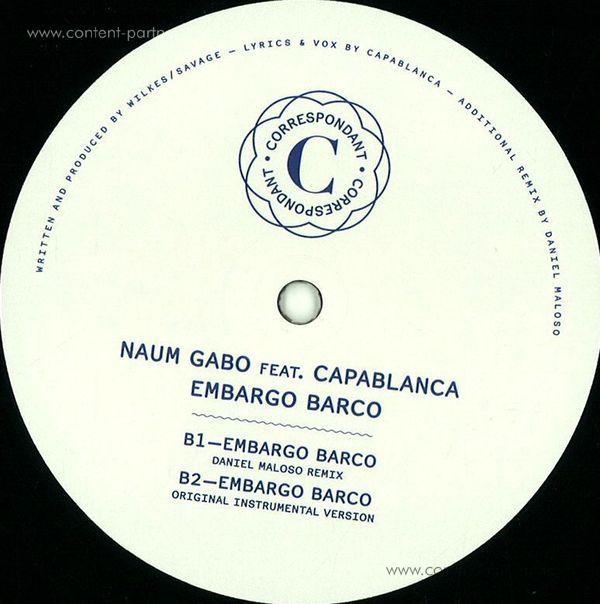 Naum Gabo - Embargo Barco (Back)
