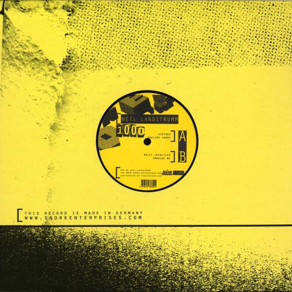 Neil Landstrumm - 1000 (Back)