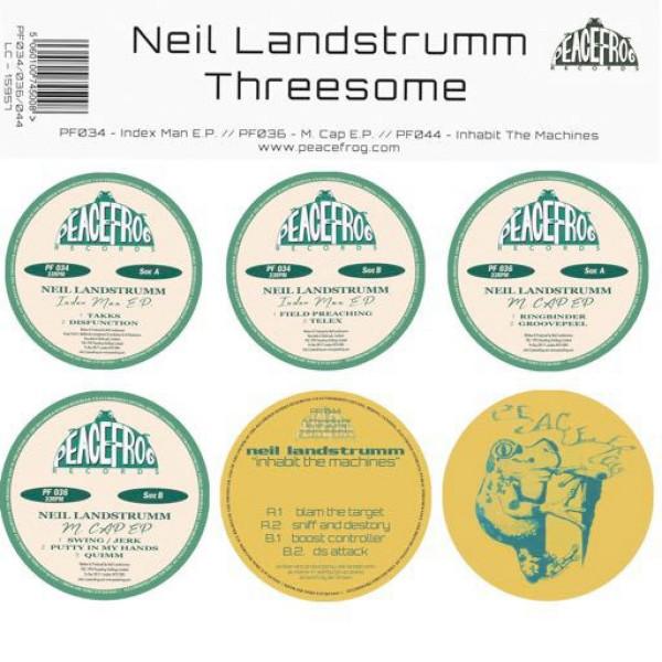 Neil Landstrumm - Threesome (Ltd. Reissue 3x12'')