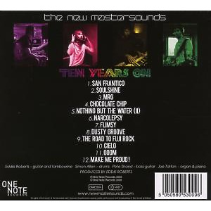 New Mastersounds,The - Ten Years On (Back)