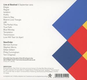 New Order - Bestival Live 2012 (Back)