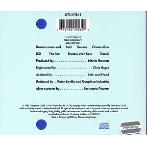 New Order - Movement (Back)
