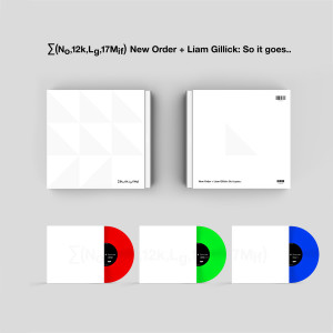 New Order - New Order + Liam Gillick: So It Goes... (Ltd. Edt)