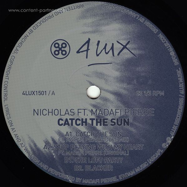 Nicholas Ft. Madafi Pierre - Catch The Sun