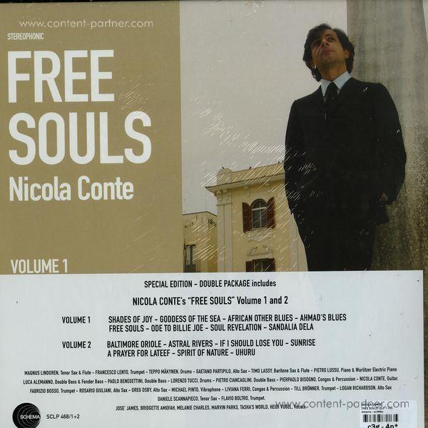 Nicola Conte - Free Souls (2LP+CD) (Back)