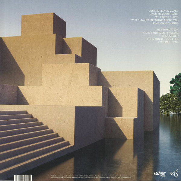 Nicolas Godin - Concrete And Glass (LP+CD) (Back)