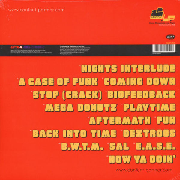 Nightmares On Wax - A Word Of Science (2LP+MP3/Gatefold) (Back)