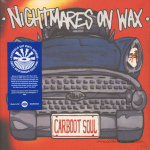 Nightmares On Wax - Carboot Soul (2LP+MP3/Gatefold)