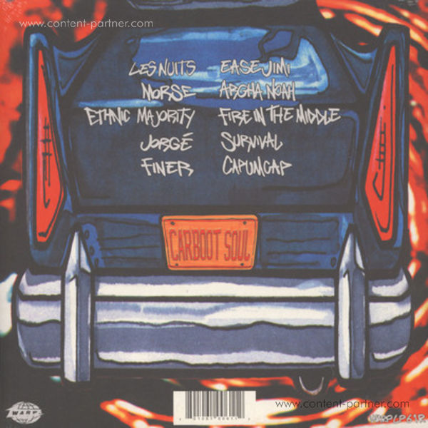 Nightmares On Wax - Carboot Soul (2LP+MP3/Gatefold) (Back)