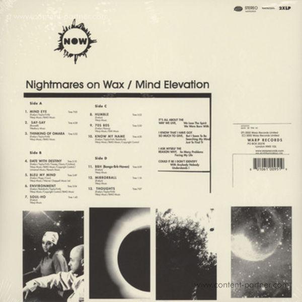 Nightmares On Wax - Mind Elevation (2LP+MP3/Gatefold) (Back)
