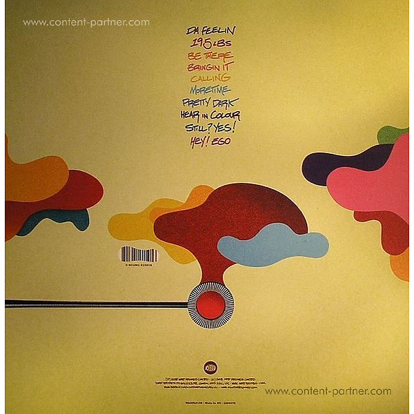 Nightmares On Wax - Thought So... (2LP+MP3/Gatefold) (Back)