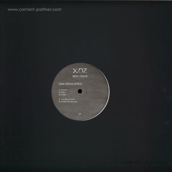 Nikita Zabelin - Trans Siberian Express (feat Exos Remix) (Back)