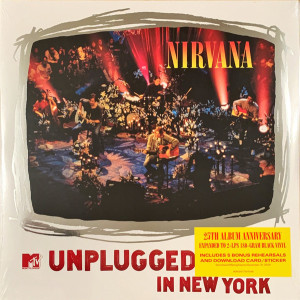Nirvana - MTV Unplugged in New York (25th Anni. 2LP Edition)