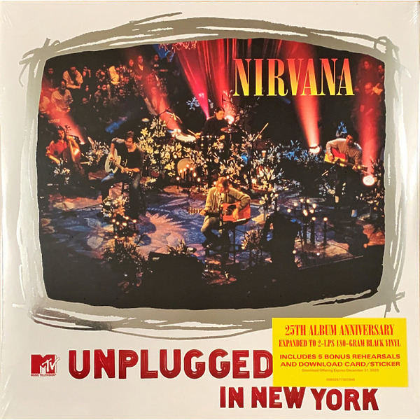 Nirvana - MTV Unplugged in New York (25th Anni. 2LP Edition)