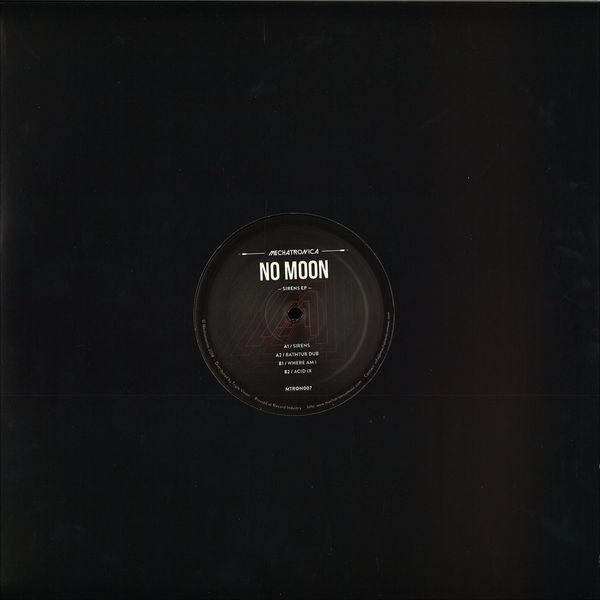 No Moon - Sirens EP (Back)