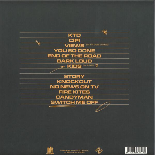 Noga Erez - KIDS (LP) (Back)