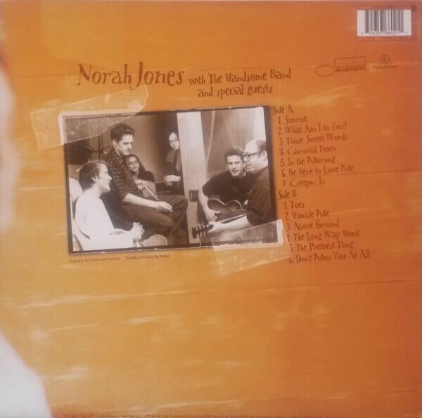 Norah Jones - Feels Like Home (LP) (Back)