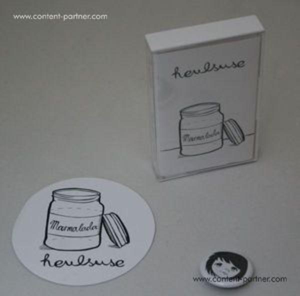 Norman Zube - Marmalada (cassette Incl. Mp3code) (Back)