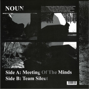 Noun (Daniel Avery & Roman Flügel) - Meeting Of The Minds (Back)