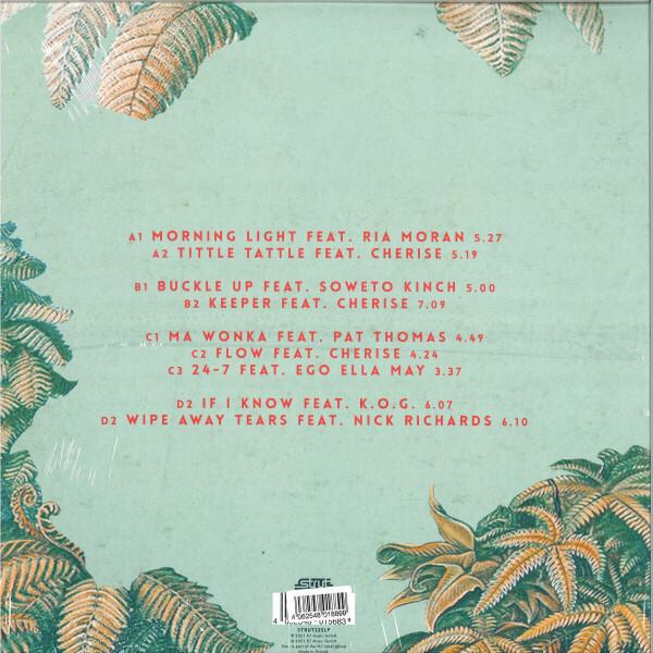 Nubiyan Twist - Freedom Fables (Ltd. Green Vinyl 2LP) (Back)