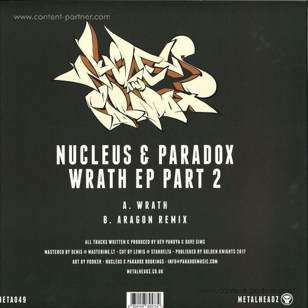 Nucleus & Paradox - Wrath Ep Part 2 (Back)