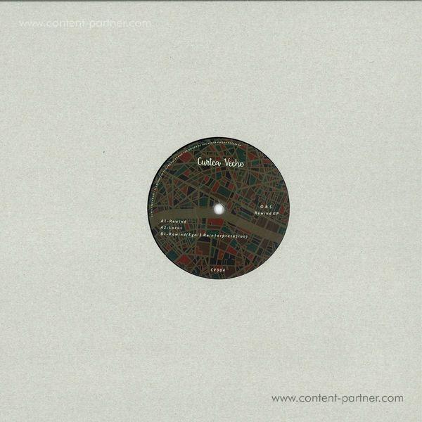 O. B. S. - Rewind EP (Vinyl Only) (Back)