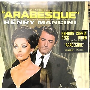 O.S.T. - Arabesque (Henry Mancini) (Ltd. Green Vinyl) (Back)