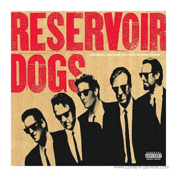 O.S.T. - Reservoir Dogs (Ltd. Red Clear Vinyl LP)