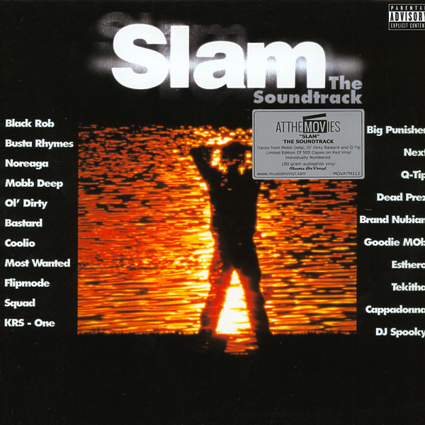 O.S.T. - Slam: The Soundtrack (Ltd. 2LP Red Vinyl)