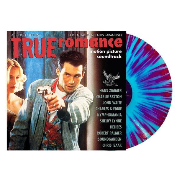 OST - True Romance (Blue/Magenta Splatter Vinyl)