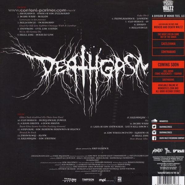 OST/Various - Deathgasm (Soundtrack) 2LP (Back)