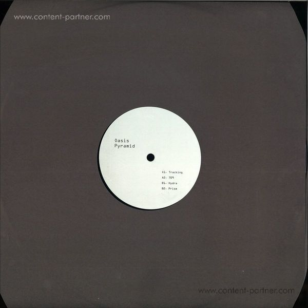 Oasis Pyramid - Tracking EP (Back)