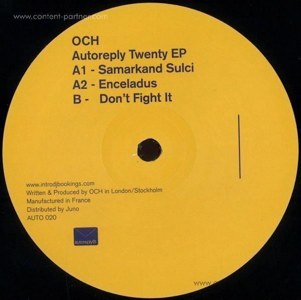 Och - Autoreply Twenty Ep (2x12'')