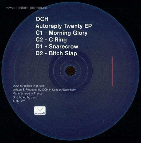 Och - Autoreply Twenty Ep (2x12'') (Back)