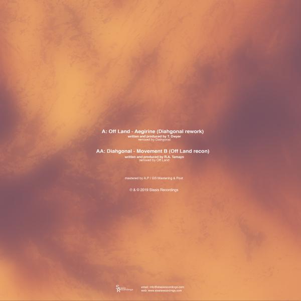 Off Land / Diahgonal - Aegirine / Movement B (Back)