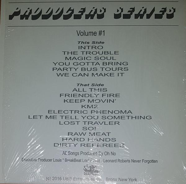 Oh No - Ultimate Breaks & Beats (LP) (Back)