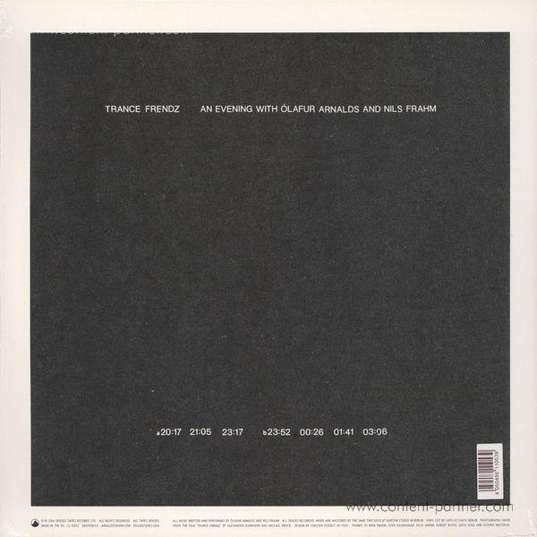 Olafur Arnalds & Nils Frahm - Trance Frendz (LP) (Back)