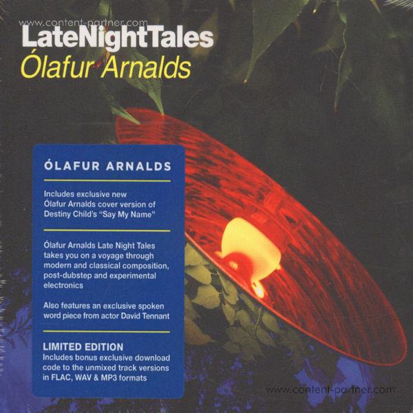 Olafur Arnalds - Late Night Tales (2LP+MP3/180g/Gatefold)