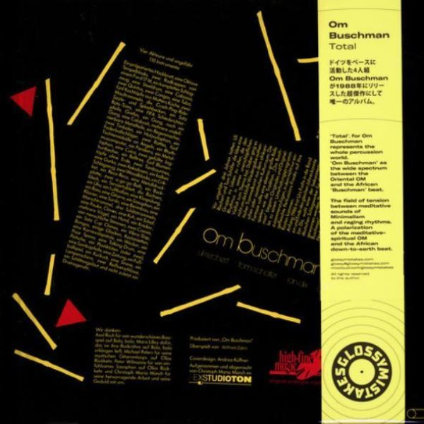 Om Buschman - Total (Back)