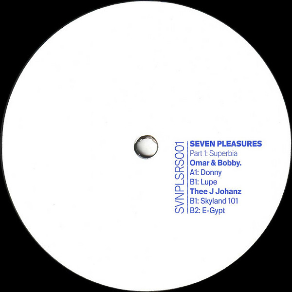 Omar & Bobby. / Thee J Johanz - Seven Pleasures Part 1: Superbia EP
